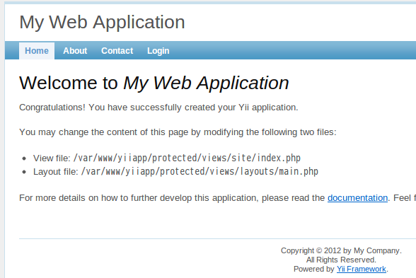 My Web Application